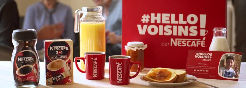 A découvrir: la campagne #HelloVoisins de Nescafé